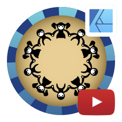 2dgameartguru - quick fix - aligning around a circle
