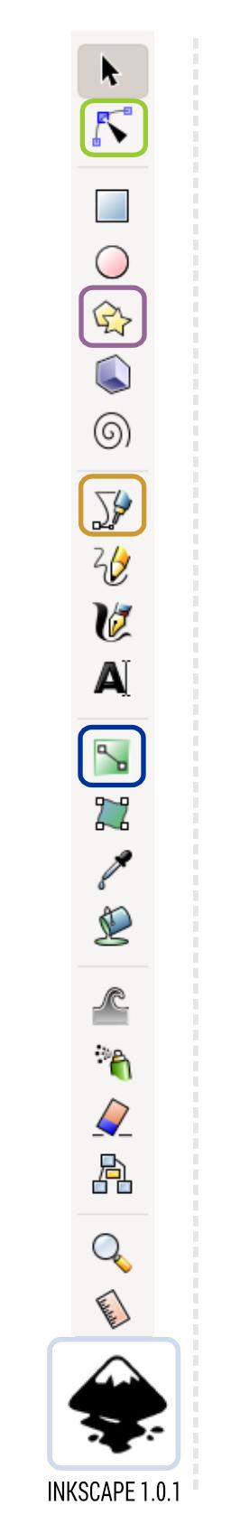 2Dgameartguru inkscape toolbar