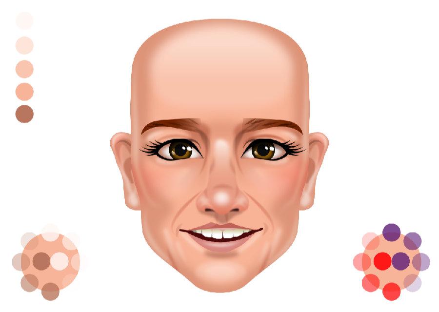 2Dgameartguru - facial shading - after