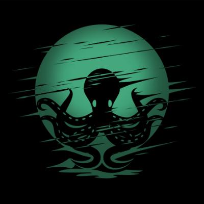 2Dgameartguru - torn and blown effect - sample octopus