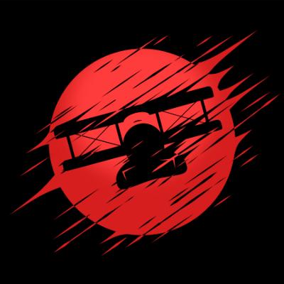 2Dgameartguru - torn and blown effect - plane