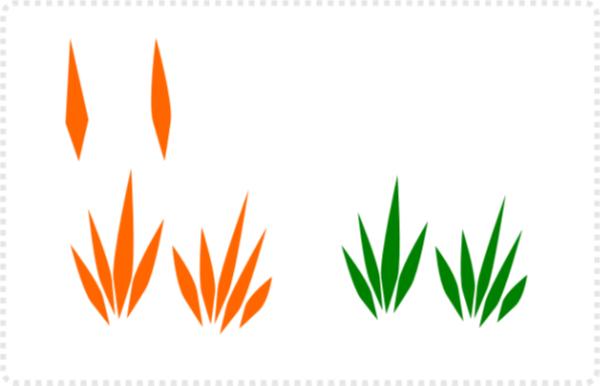 2dgameartguru - pattern along a path in inkscape