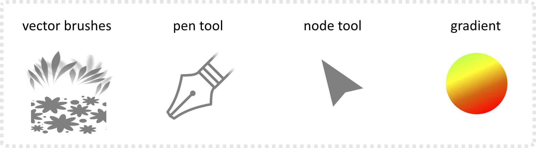 2dgameartguru - vector brush creation in Affinity Designer tools