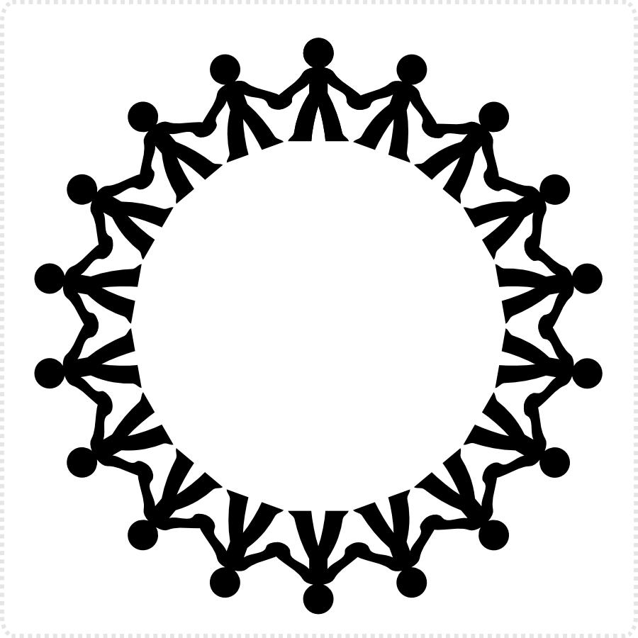 2dgameartguru - figures along a circle