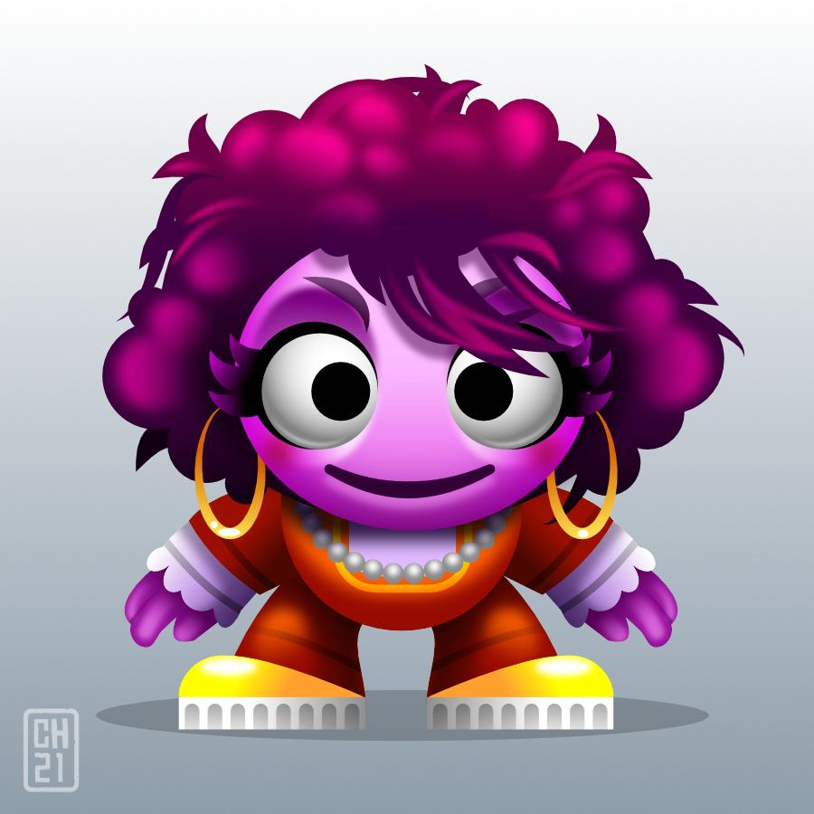2Dgameartguru - cute and colourful character design - gameart