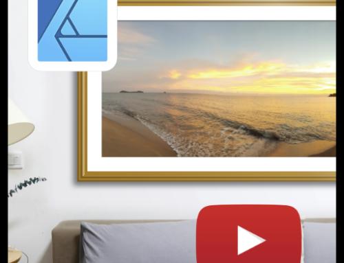 Creating dynamic picture frames for mockups in Affinity Designer