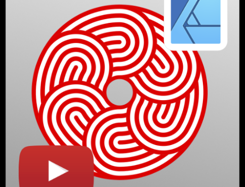 Creating an overlapping circular pattern in Affinity Designer