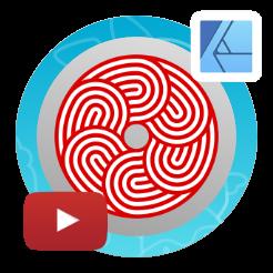 2dgameartguru - circular pattern with appearance setting